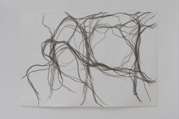 Koho Mori-Newton o.T. 70x100cm Tusche/Tischpapier 2009