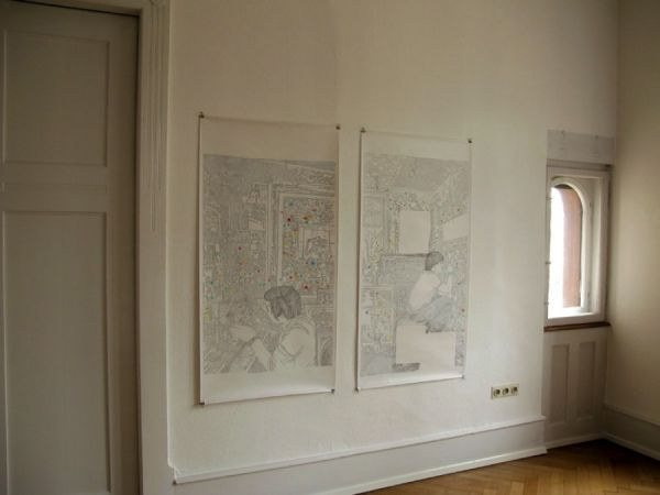 Blick in die Ausstellung Fotos: Cristina Ohlmer