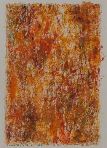 o. T. Aquarell  29,0 x 19,0 cm  1962