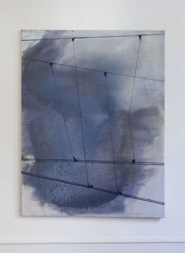 wires 130 x 100 cm Öl auf Lwd. 2007