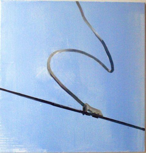 wires 125 x 120 cm Öl auf Lwd. 2006