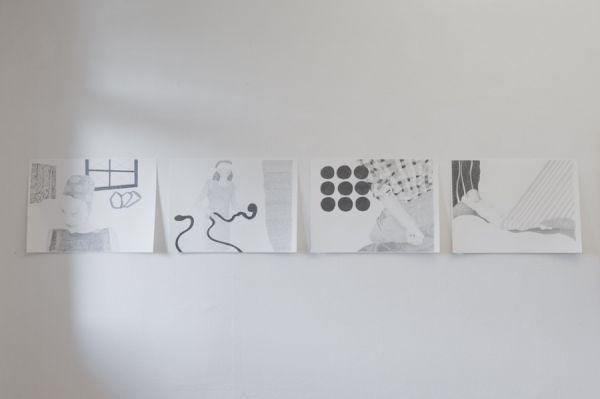Ausstellungsansicht                               Foto: Marc Doradzillo