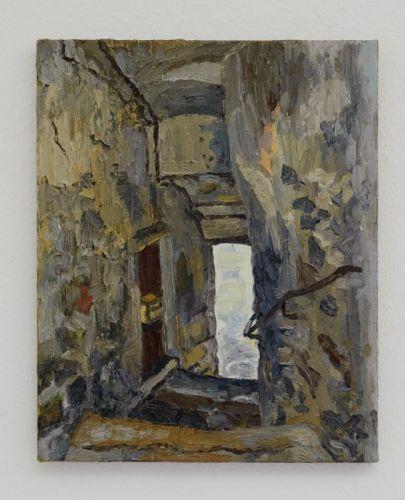 Passage (Sauve) 41 x 33 cm Öl/Lwd. 2009 Foto: Marc Doradzillo