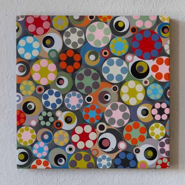 090312  30 x 30 cm  Acryl auf Holz