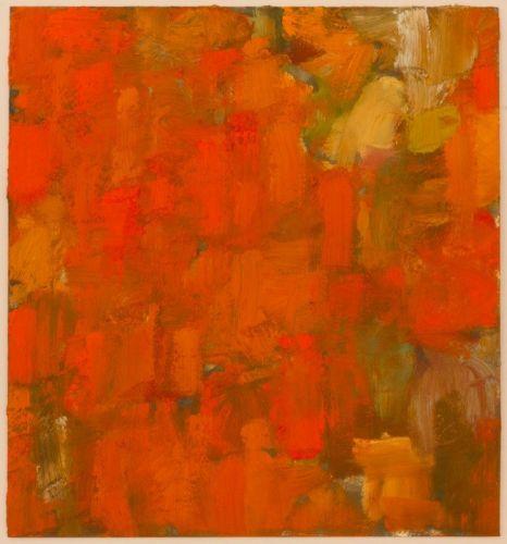 Studie 27 x 25 cm Lack/Pigmente/Ölfarbe auf Karton 2011