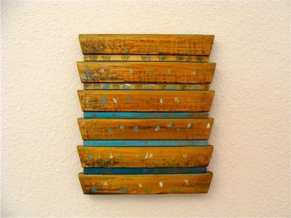 La casa d'Api  2014  oil paints on wood  28,5x24,5x2,5cm