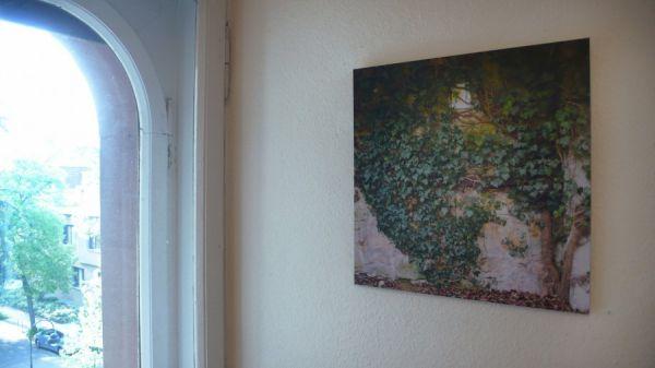 Fast ein Stammbaum 2007 35 x 35 cm digital-print auf AluDibond kaschiert