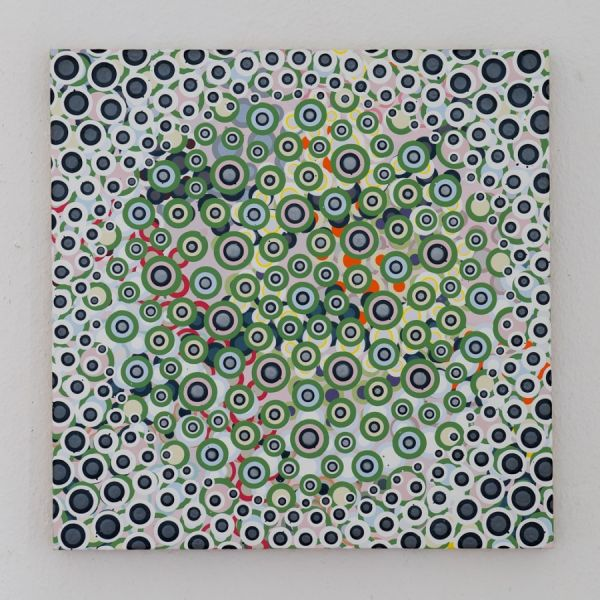 090112  40 x 40 cm  Acryl auf Holz