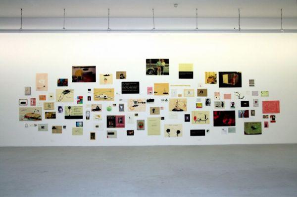 Installation Kunstverein Freiburg 2009