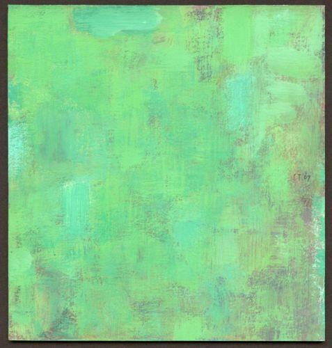 Juni/Juli 2007 16,5 x 15 cm Gouache auf Graupappe