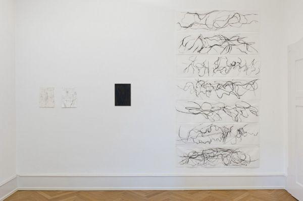 Koho Mori-Newton EIDU à 35x136cm Tusche/Chinapapier 2010